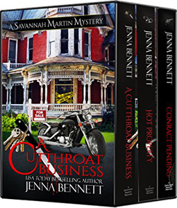 The Savannah Martin Mysteries by Jenna Bennett