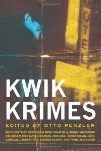 Kwik Krimes by Otto Penzler, editor