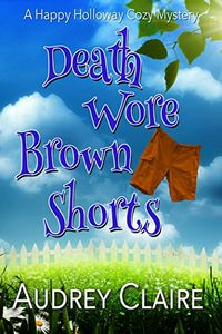 Death Wore Brown Shorts by Audrey Claire