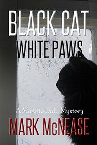 Black Cat White Paws by Mark McNease