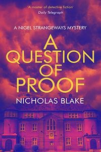 A Question of Guilt by Nicholas Blake