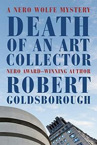 Death of an Art Collector by Robert Goldsborough
