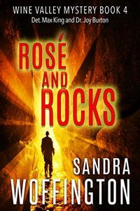 Rose and Rocks by Sandra Woffington